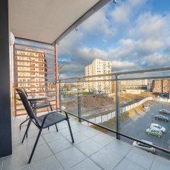 Отель Apartinfo Szafarnia Apartments Польша, Гданьск - отзывы, цены и фото номеров - забронировать отель Apartinfo Szafarnia Apartments онлайн балкон