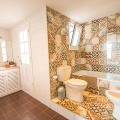 Отель Villa Sa Caleta Испания, Льорет-де-Мар - отзывы, цены и фото номеров - забронировать отель Villa Sa Caleta онлайн ванная фото 2