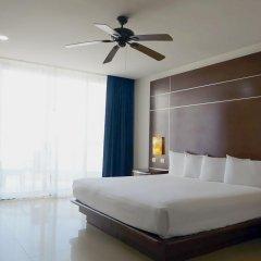 Отель Seadust Cancun Family Resort 5* Номер Делюкс с различными типами кроватей фото 4