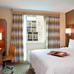 Отель Hampton Inn Manhattan Grand Central 3* Стандартный номер с различными типами кроватей фото 2