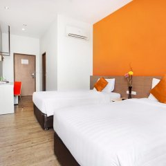 Отель D Varee Xpress Makkasan 3* Стандартный номер фото 19