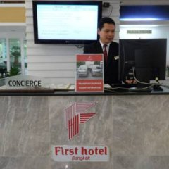 First Hotel интерьер отеля фото 3