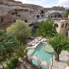 Gamirasu Hotel Cappadocia Турция, Айвали - отзывы, цены и фото номеров - забронировать отель Gamirasu Hotel Cappadocia онлайн балкон