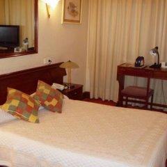 Отель Vista Alegre Hostal Кастро-Урдиалес удобства в номере