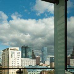 Отель Platinum Towers E-Apartments Польша, Варшава - отзывы, цены и фото номеров - забронировать отель Platinum Towers E-Apartments онлайн балкон