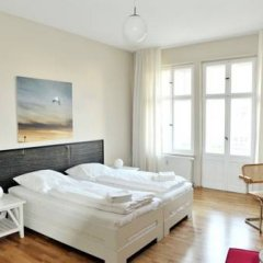 Апартаменты Pfefferbett Apartments Prenzlauer Berg комната для гостей фото 5