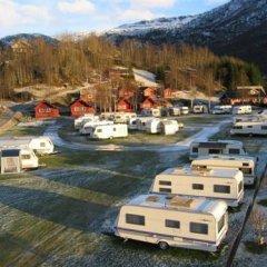 Отель Røldal Hyttegrend & Camping парковка