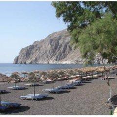 Отель Villa Kamari Star пляж фото 2