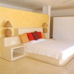 Отель Villa Puesta del Sol Мексика, Коакоюл - отзывы, цены и фото номеров - забронировать отель Villa Puesta del Sol онлайн комната для гостей фото 4