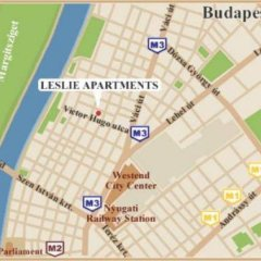 Апартаменты Apartments Leslie Budapest городской автобус