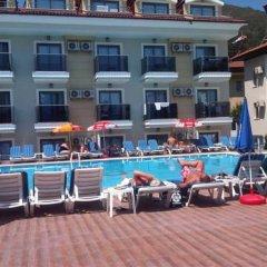 Bilnur Apart Deluxe Турция, Мармарис - отзывы, цены и фото номеров - забронировать отель Bilnur Apart Deluxe онлайн бассейн фото 2