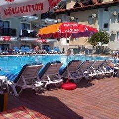Bilnur Apart Deluxe Турция, Мармарис - отзывы, цены и фото номеров - забронировать отель Bilnur Apart Deluxe онлайн бассейн фото 3