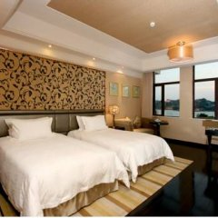 Lujiang Harbourview Hotel Xiamen Сямынь комната для гостей фото 3