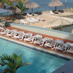 Отель Pipers Cove Resort Ямайка, Ранавей-Бей - отзывы, цены и фото номеров - забронировать отель Pipers Cove Resort онлайн бассейн фото 3