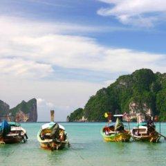 Отель Phi Phi Bayview Premier Resort Таиланд, Ранти-Бэй - 3 отзыва об отеле, цены и фото номеров - забронировать отель Phi Phi Bayview Premier Resort онлайн приотельная территория фото 2