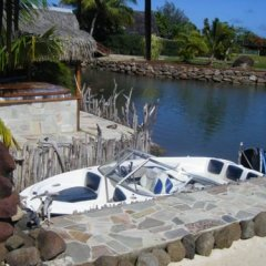 Отель Tiahura Dream Lodge Французская Полинезия, Муреа - отзывы, цены и фото номеров - забронировать отель Tiahura Dream Lodge онлайн бассейн фото 2