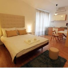 Апартаменты Slavija Square Apartments комната для гостей фото 2