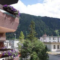 Отель Crystal Швейцария, Давос - отзывы, цены и фото номеров - забронировать отель Crystal онлайн балкон