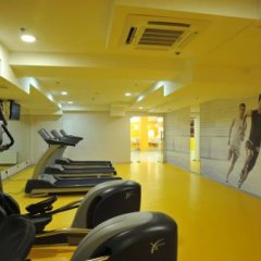 Гостиница Shakhtar Plaza фитнесс-зал фото 3