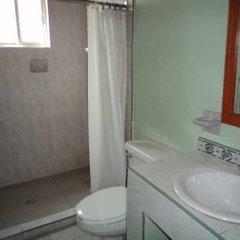 Отель Cabañas Montebello Inn ванная