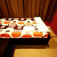 Отель Khaosan Fukuoka Annex Хаката в номере
