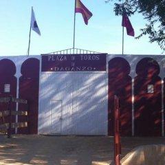 Отель Hostal Cervantes спортивное сооружение
