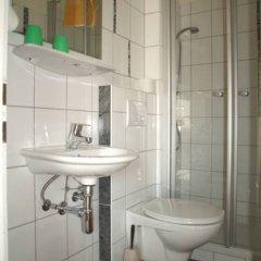Отель Gastehaus Hubertus ванная фото 2