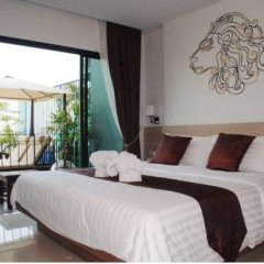 Апартаменты Zodiac Seaview@Patong Apartment Service комната для гостей фото 2