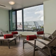Отель Arcotel Rubin Гамбург балкон