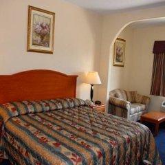 Отель Americas Best Value Inn & Suites-Bush Int'l Airport комната для гостей фото 5