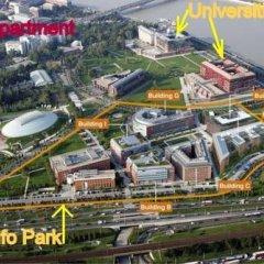 Отель Buda University 2-room Apartments Венгрия, Будапешт - отзывы, цены и фото номеров - забронировать отель Buda University 2-room Apartments онлайн спортивное сооружение