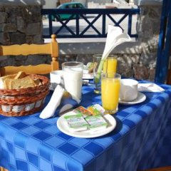 Отель Aretousa Villas Греция, Остров Санторини - отзывы, цены и фото номеров - забронировать отель Aretousa Villas онлайн питание фото 2