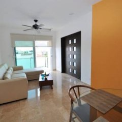 Отель La Papaya Plus 303 - LPP303 Мексика, Плая-дель-Кармен - отзывы, цены и фото номеров - забронировать отель La Papaya Plus 303 - LPP303 онлайн комната для гостей фото 4