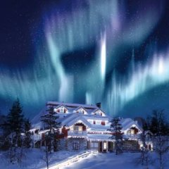 Отель Kakslauttanen Arctic Resort - Igloos and Chalets фото 7