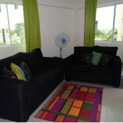 Отель Apartamento Aquarel Доминикана, Бока Чика - отзывы, цены и фото номеров - забронировать отель Apartamento Aquarel онлайн комната для гостей фото 2