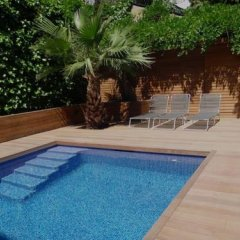 Отель Palauet Tres Torres Барселона бассейн