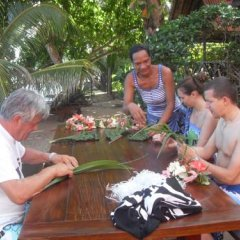 Отель Fare Vaihere Французская Полинезия, Муреа - отзывы, цены и фото номеров - забронировать отель Fare Vaihere онлайн питание фото 3