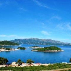 Отель Villa Ideal Албания, Ксамил - отзывы, цены и фото номеров - забронировать отель Villa Ideal онлайн приотельная территория