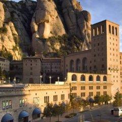 Отель Apartamentos Montserrat Abat Marcet Монистроль-де-Монтсеррат