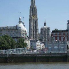Отель De Koning van Spanje Антверпен приотельная территория фото 2