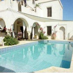 Отель Dar Hamza Тунис, Мидун - отзывы, цены и фото номеров - забронировать отель Dar Hamza онлайн бассейн фото 2