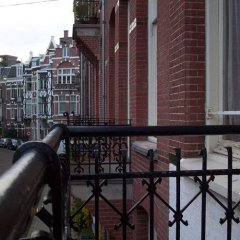 Отель Amsterdam Hostel Annemarie Нидерланды, Амстердам - отзывы, цены и фото номеров - забронировать отель Amsterdam Hostel Annemarie онлайн балкон