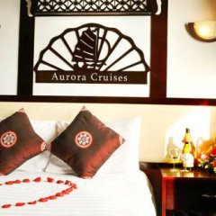 Отель Halong Aurora Cruises Халонг комната для гостей фото 4