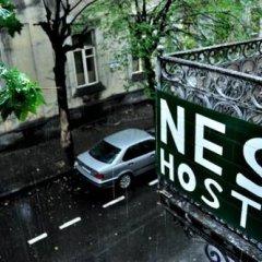 Nest Hostel парковка