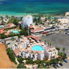 Alexia Hotel Apartments пляж