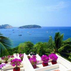 Отель The Royal Phuket Yacht Club пляж