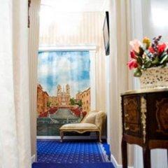 Отель Domus Borgognona Италия, Рим - отзывы, цены и фото номеров - забронировать отель Domus Borgognona онлайн интерьер отеля фото 2