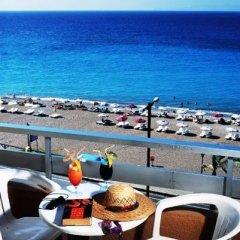 Отель Rhodos Horizon Resort балкон