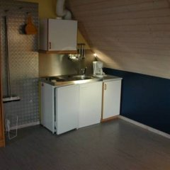Отель Gl. Ålbo Camping & Cottages Сёндер-Стендеруп удобства в номере