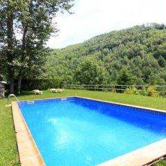 Отель Apartamentos Rurales Les Barnedes Мольо бассейн
